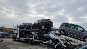 kapotte auto's voor export gevraagd