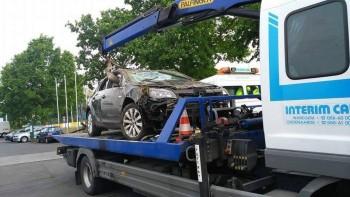 Opkopers auto met schade