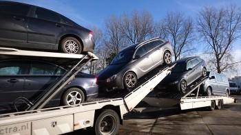 wagen voor export wegdoen