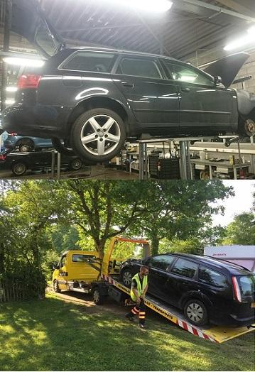 opkopers autos met defect
