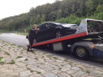 auto met mankement inruilen