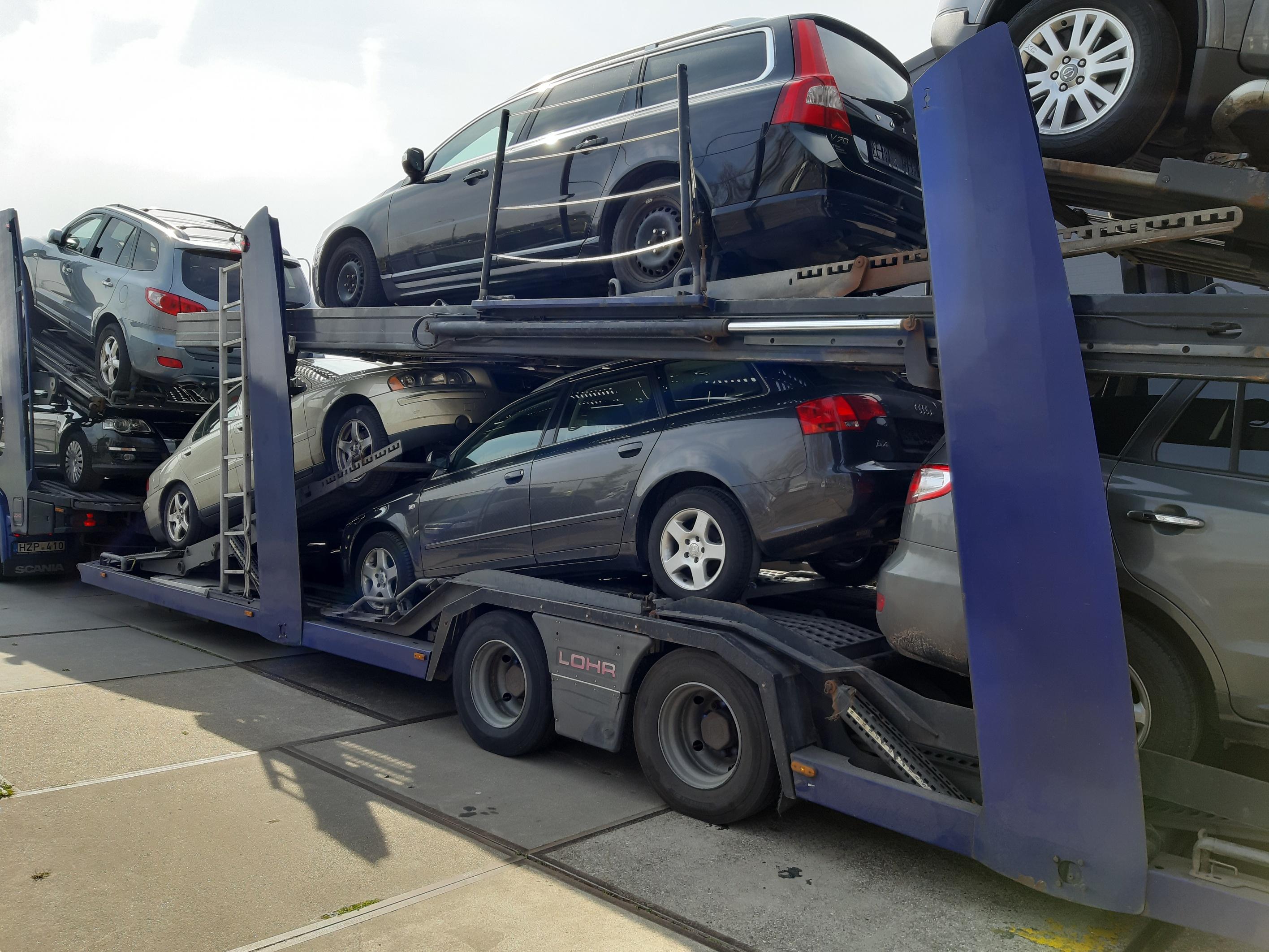 auto aan buitenland verkopen