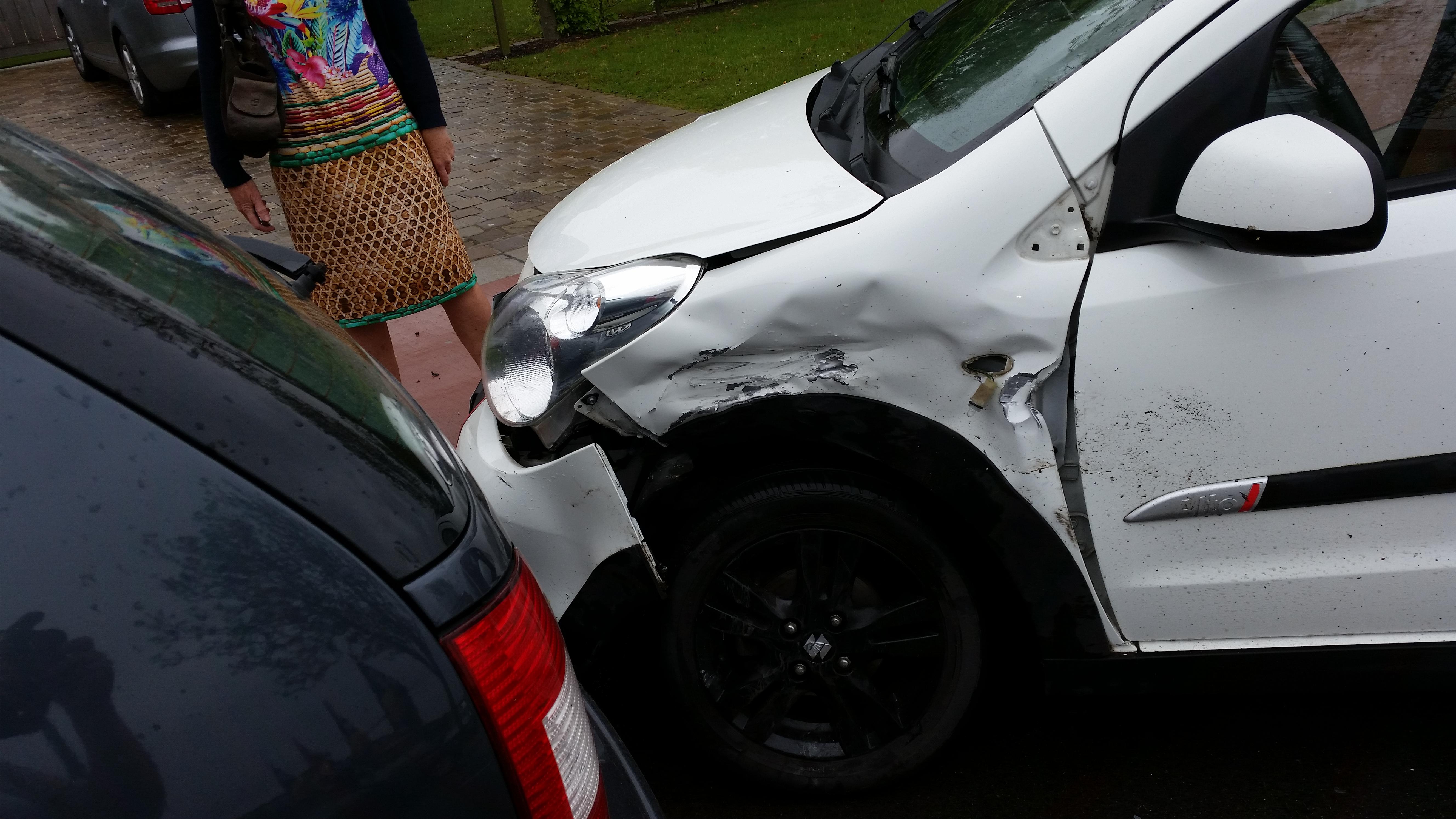 Hoeveel mijn beschadigde auto waard