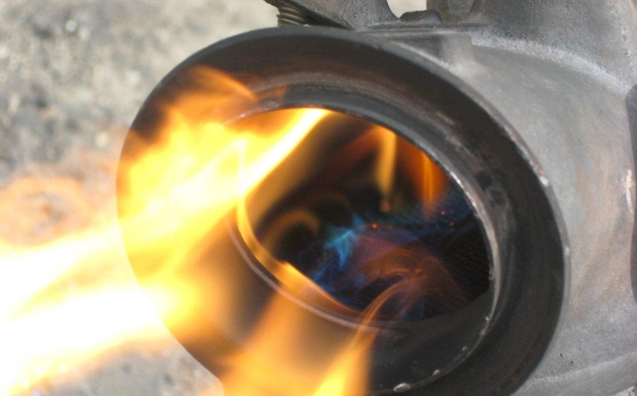 roetfilter uitbakken