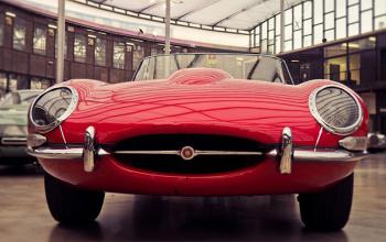 Jaguar E-type uit 1962