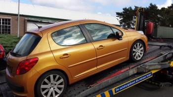 auto met motor schade verkopen