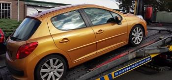 auto met defect verkopen