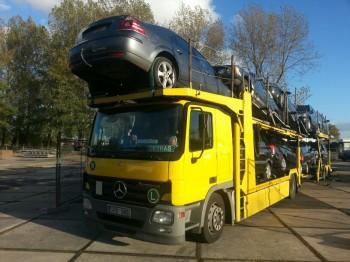 Schade Auto voor Export Verkopen