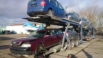 ongeval wagen voor export verkopen