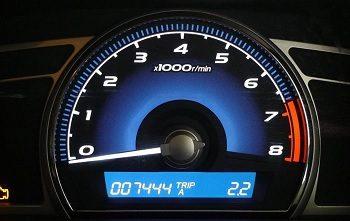 auto met weinig kilometers