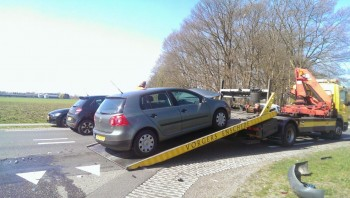 auto na ongeluk verkopen