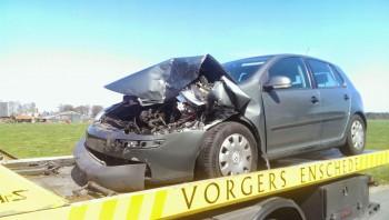 waarde van ongeval auto