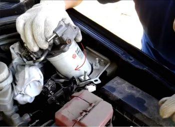 brandstoffilter vervangen kosten
