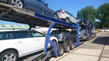 auto voor export wegdoen
